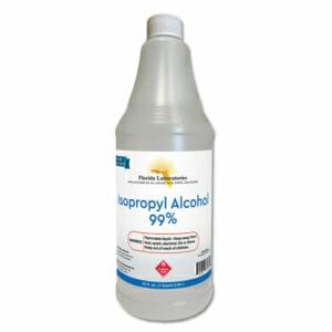 isopropyl alcohol 99 percent quart gallon flalab florida
