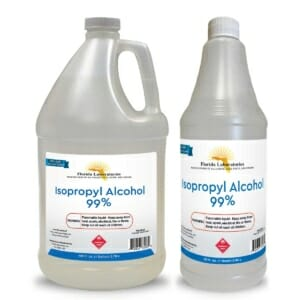 gallon quart bottle isopropyl alcohol 99 flalab florida laboratories