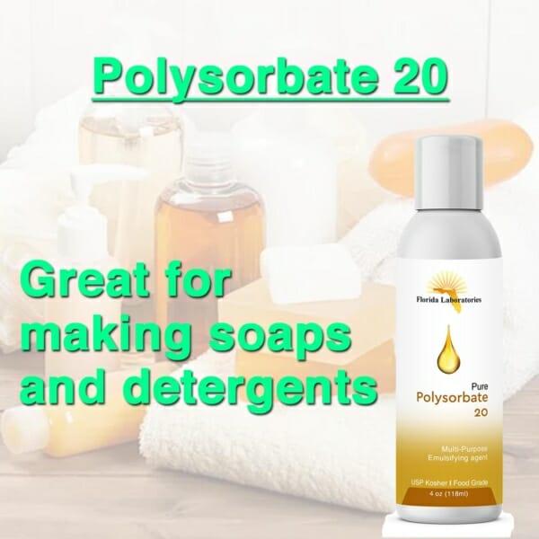polysorbate 20 uses