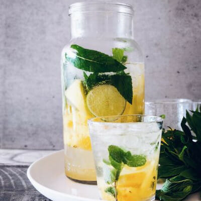 Homemade Lemonade with Citric Acid