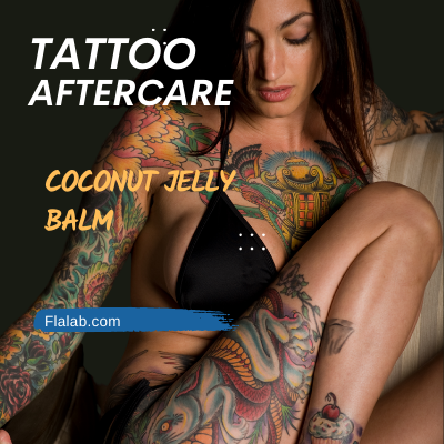 Tattoo Aftercare Coconut Jelly Balm