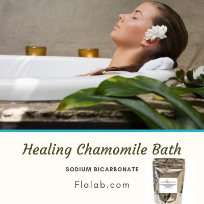 DIY Miracle Chamomile Bath
