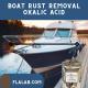 Boat Rust Removal-Oxalic Acid