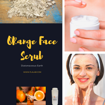 Homemade Orange Face Scrub